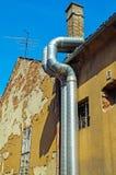 Трубопровод электростанции Стоковое Фото