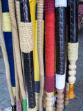 Трубы водопровода Nargile для продажи, Chora, Стамбул, Турция Стоковое фото RF