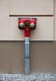 трубы гидранта Стоковое Изображение