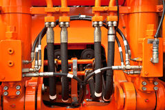 Трубы гидравлического давления Стоковые Фото