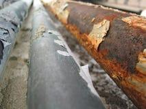 трубы заржавели Стоковая Фотография RF