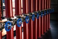 Трубы и клапаны Стоковые Фотографии RF