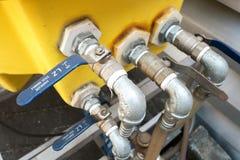 Трубы и клапаны Стоковое Фото