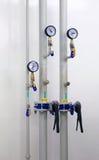 трубы метров Стоковые Фото