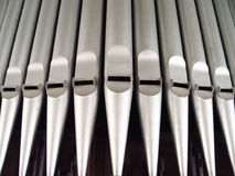 трубы органа Стоковые Изображения