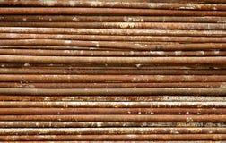 Трубы положены в стог Стоковые Фото