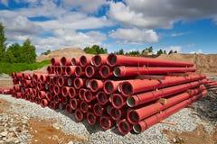 Трубы PVC Стоковая Фотография RF