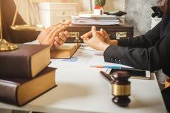 Трудная работа азиатского юриста стоковая фотография rf