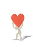трудное сердце Стоковое Изображение RF