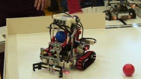 Трудный сборник шарика робота Проект школы видеоматериал
