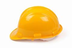 Трудный шлем на белой пустой предпосылке Стоковое Изображение RF