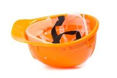 Трудный шлем. Стоковое Изображение