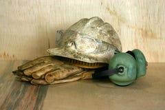 трудный шлем Стоковое Изображение RF