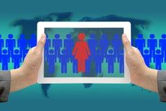 трудовойый ресурс женщины Стоковое Изображение