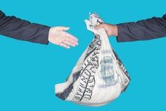 Трудыы денег стоковое изображение