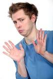 Трусливый человек Стоковые Фотографии RF