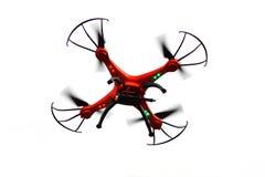 Трутень летания с установленной камерой Стоковые Фотографии RF