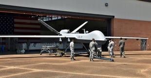 Трутень жнеца военновоздушной силы MQ-9 Стоковая Фотография RF