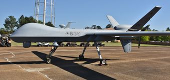 Трутень жнеца военновоздушной силы MQ-9 Стоковые Изображения