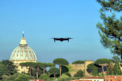 Трутень на Риме Стоковые Фото