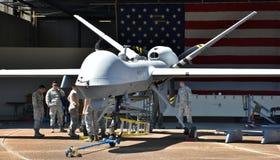 Трутень хищника военновоздушной силы MQ-9 Стоковое фото RF