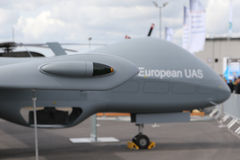 Трутень EADS европейский UAS Стоковые Фото