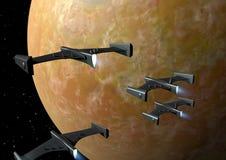 Трутни оружия (космос) Стоковая Фотография RF