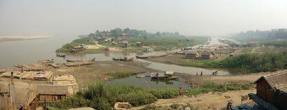 Трущобы, Мандалай, Bagan стоковая фотография