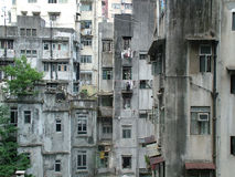 трущобы скудости Стоковое Фото