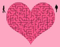 Трудная влюбленность Стоковое Изображение