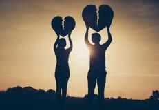 Трудная влюбленность Стоковые Фотографии RF