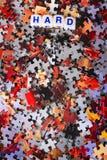 Трудная головоломка стоковые изображения rf