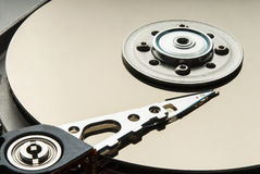 Трудный дисковод внутрь Стоковое фото RF