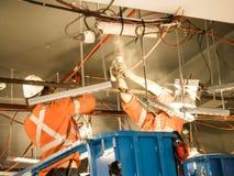 Трудовая команда работника и инженера работает в Сиднее Стоковые Изображения RF