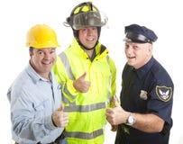 трудовойый ресурс thumbsup Стоковая Фотография