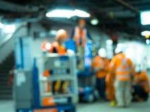Трудовые работник и инженер Стоковая Фотография RF