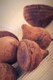 трюфель шоколада конфеты Стоковая Фотография RF
