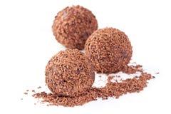 трюфель шоколада Стоковая Фотография