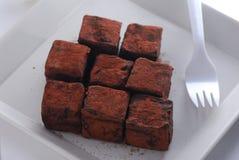 трюфель шоколада Стоковые Изображения