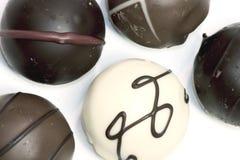трюфеля шоколада Стоковое Изображение