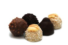 трюфеля шоколада Стоковое фото RF