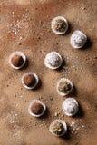трюфеля шоколада handmade Стоковое фото RF