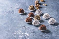 трюфеля шоколада handmade Стоковые Фотографии RF