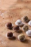 трюфеля шоколада handmade Стоковые Изображения RF