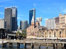 трясет горизонт Сидней стоковое изображение