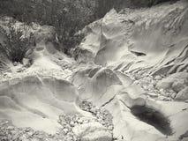 Трясет гору природы Стоковая Фотография