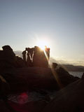 трясет море Сардинии Стоковое Фото