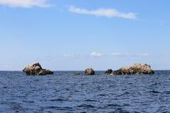 трясет море Стоковые Изображения