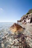 трясет Сардинию Стоковое Изображение