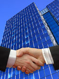 трястить рук бизнесменов Стоковая Фотография RF